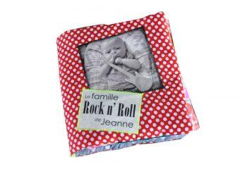 mOn livre doudou - C'est MON livre photo personnalisé en tissu
