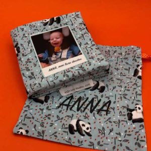 Album photo pour bébé en tissu