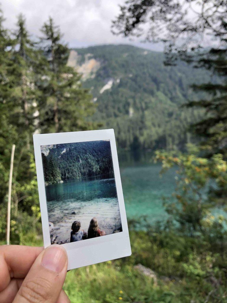 photo de vacances pour album